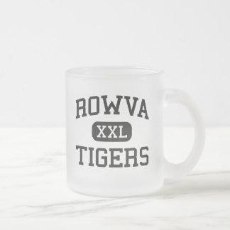 ROWVA - Tigres - High School secundaria - Oneida Taza Cristal Mate