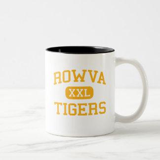 ROWVA - Tigres - joven - Oneida Illinois Taza Dos Tonos
