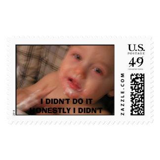 ROX101 024, I DIDN'T DO IT  HONESTLY I DIDN'T POSTAGE