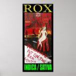 ROX INDICA SATIVA PRINT