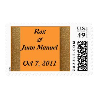 Rox & Juan Manuel Stamp