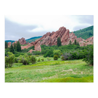 Roxborough Meadows Mountains and Spires Postcard