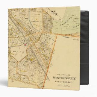 "Roxbury del oeste, Massachusetts 2 Carpeta 1 1/2"""