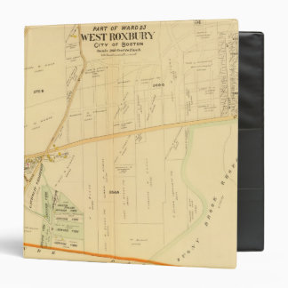 "Roxbury del oeste, Massachusetts Carpeta 1 1/2"""