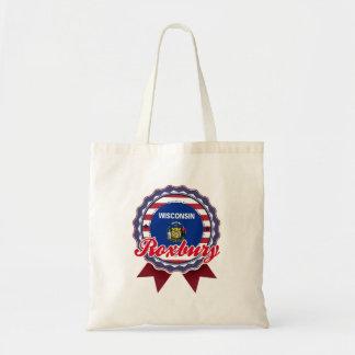 Roxbury, WI Tote Bag