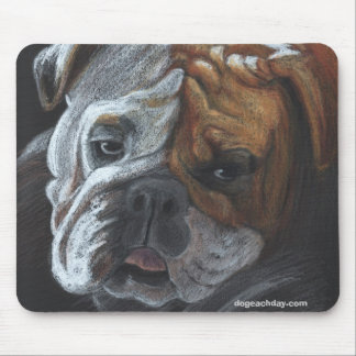 Roxie, dogeachday.com mouse pad