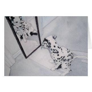 Roxie el Dalmatian Tarjeta Pequeña