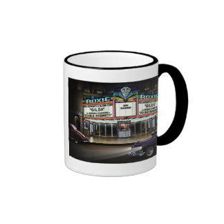 Roxie Picture Show Ringer Coffee Mug