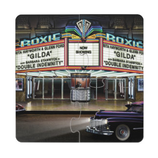Roxie Picture Show Puzzle Coaster