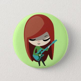 Roxie Rockstar Button