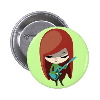 Roxie Rockstar Pin Redondo 5 Cm