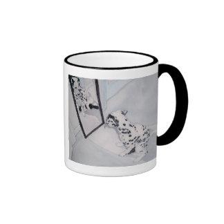 Roxie the Dalmatian Ringer Coffee Mug