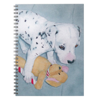 Roxie the Dalmatian Pup Spiral Notebook