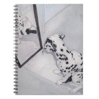 Roxie the Dalmatian Spiral Notebook