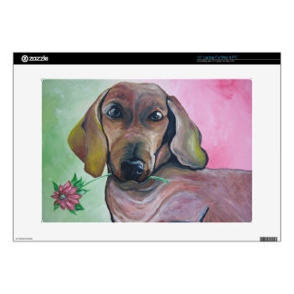 Roxie the Doxie Laptop Decal