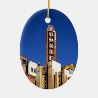 Roxie Vintage Sign Christmas Tree Ornaments