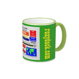 Roxy Duck and Friends online adventures Mug #1