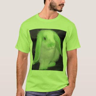 Roxy rabbit in green T-Shirt