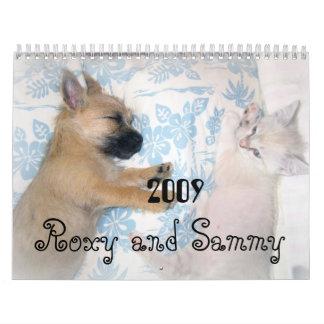 Roxy & Sammy Calendar
