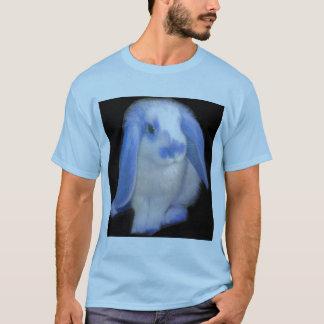 Roxy the Rabbit in blue T-Shirt