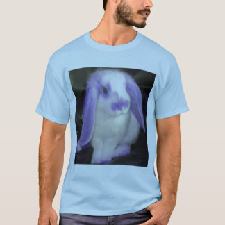 Roxy the rabbit in lilac T-Shirt