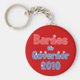 Roy Barnes for Governor 2010 Star Design Keychain