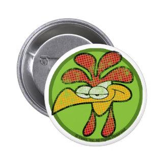 Roy el botón del gallo pin redondo de 2 pulgadas