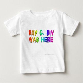 Roy G. Biv Graffiti Baby T-Shirt