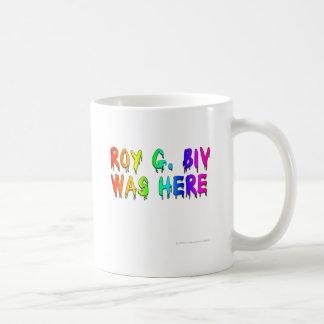 Roy G. Biv Graffiti Coffee Mug