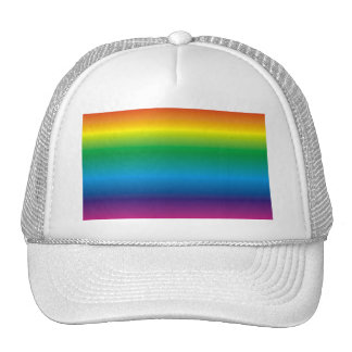 ROY G BIV TRUCKER HAT