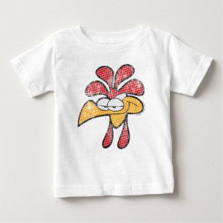 Roy la camisa del bebé del gallo
