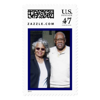 Roy & Mary Clendon Stamp
