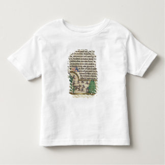 Roy Page of text with illustration of Toddler T-shirt
