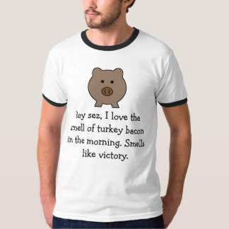 Roy Pig ~ Funny Bacon T-Shirt