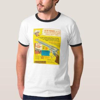 ROY ROGERS Badge Gun Advertisement 1953 Deputy T-Shirt