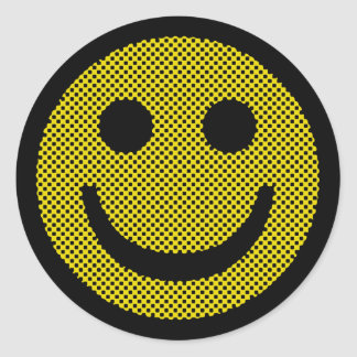 Roy Smiley Classic Round Sticker