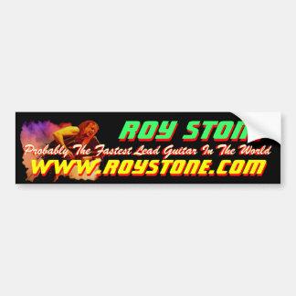 ROY STONE LIVE PIC STICKER BUMPER STICKERS
