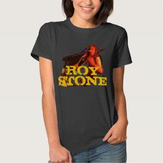 ROY STONE LOGO BACKPRINT T-SHIRT