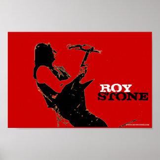 ROY STONE POSTER
