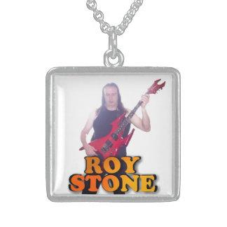 ROY STONE SILVER PENDANT