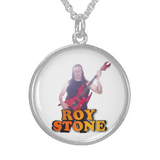 ROY STONE STERLING SILVER PENDANT
