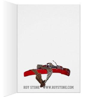 ROY STONE XMAS CARD