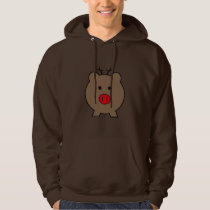 Roy the Christmas Pig Hoodie