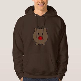Roy the Christmas Pig Hoodie