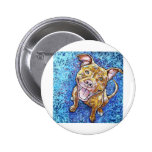 ROY the pitbull Pinback Buttons