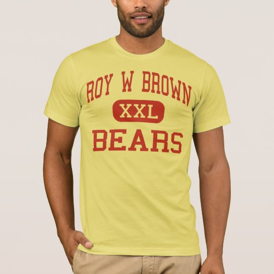 Roy W Brown - Bears - Middle - Bergenfield T-Shirt