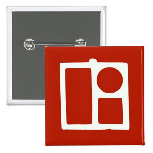 Royal 2 Inch Square Button