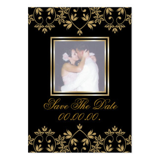Royal Affordable  Save The Date Photo Cards Large Business Cards (Pack Of 100)
