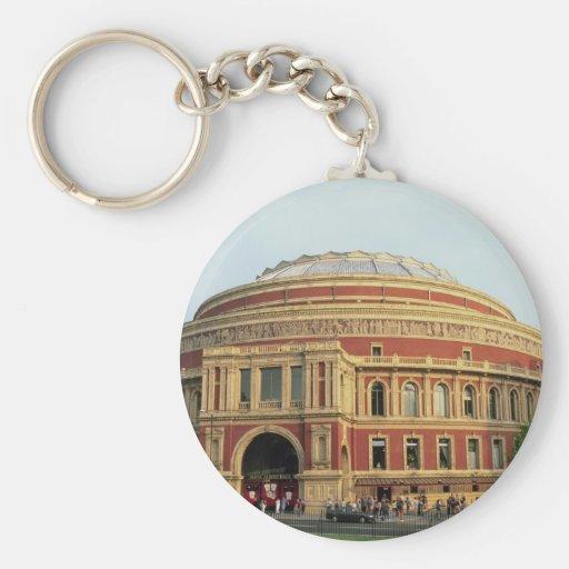 Royal Albert Hall, London, England, U.K. Basic Round Button Keychain