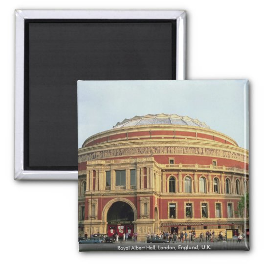 Royal Albert Hall, London, England, U.K. Magnet